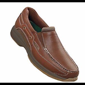 NWOT Men's Sz 10 Dr. Scholl's Brown Loafers